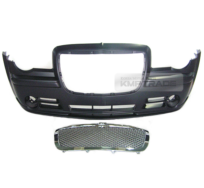 LUXURY Sport Mesh Style Chrome SRT Front Grille For 2005