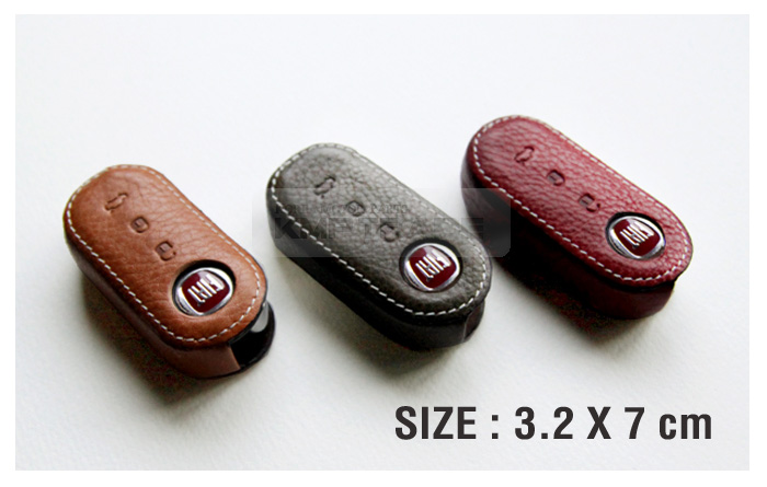 Premium Accessory Leather Cowhide Smart Key Case Cover 1ea