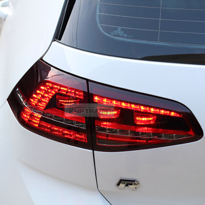 Led Tail Light Sequential Rear Lamp Lh Rh 4pcs For Vw 2013