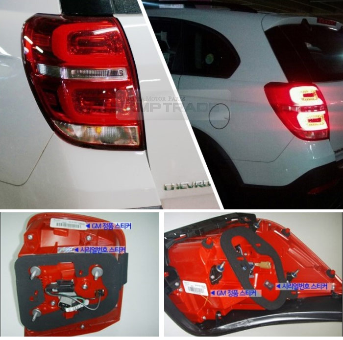 2012 Chevy Captiva Accessories: LED Tail Light Lamp Left For CHEVROLET 08 2009 2010 2011