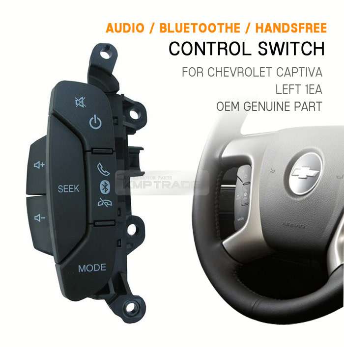 oem genuine audio bluetooth handsfree control switch for chevrolet 06 12 captiva ebay. Black Bedroom Furniture Sets. Home Design Ideas