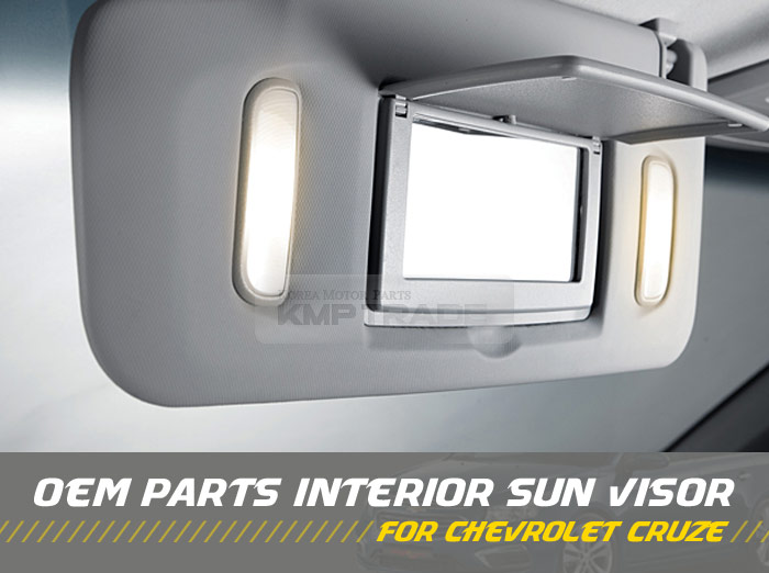 Oem Interior Hand Sun Visor Shade Lh Gray For Chevrolet 2008 2014 Cruze Ebay