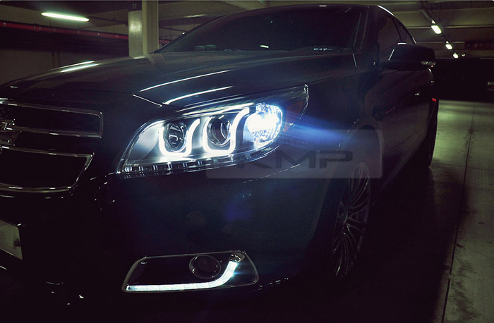 Front Led Headlight Lamp Projection Uu Line Style For