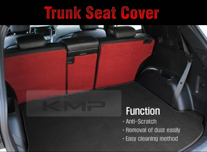 Trunk Seat Cover Cargo Mat Back For Kia 2010 2011 2012