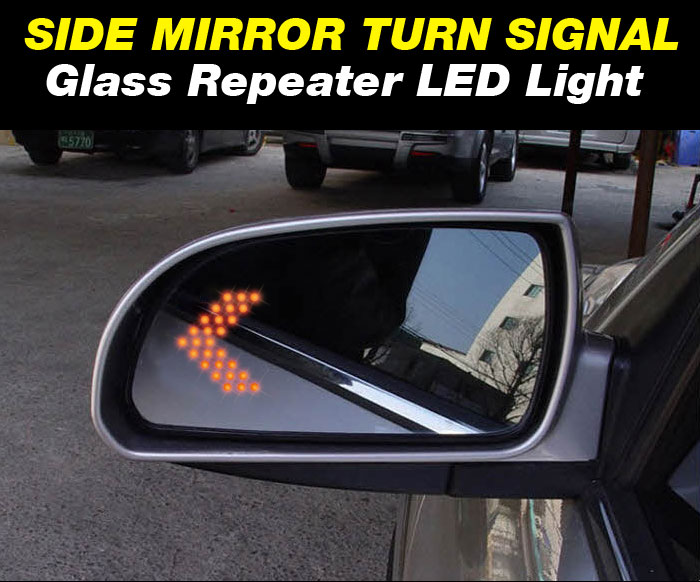 Side View Mirror Turn Signal Glass Repeater Led Module