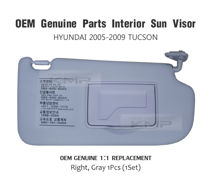 How To Replace 2005 Hyundai Elantra Visor Driver Side Sun Visor Ebay