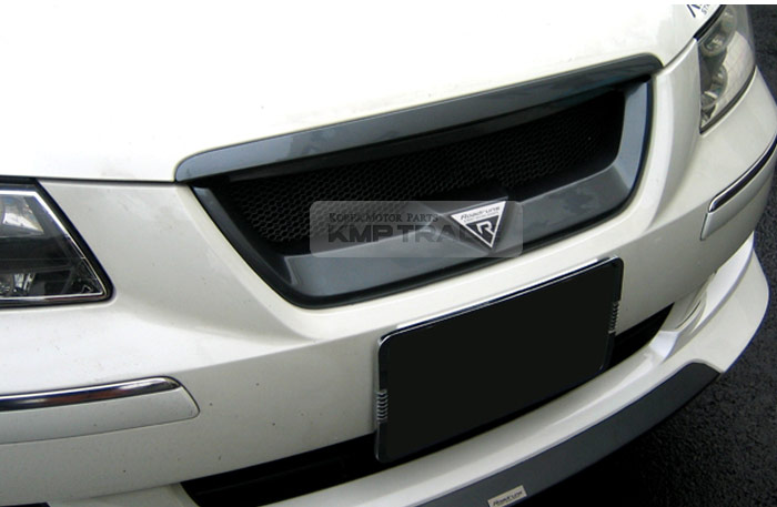 Front Hood Radiator Grille Cover Unpainted For Hyundai