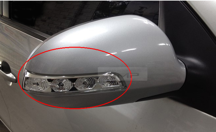 Oem Right Side Mirror Led Signal Lamp Repeater For Hyundai