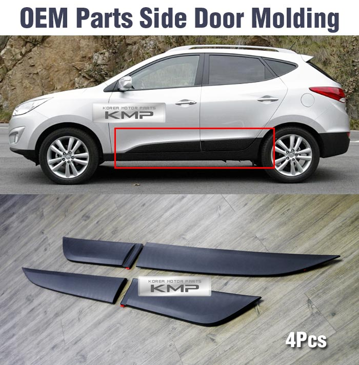Oem Genuine Parts Side Door Garnish Molding 4pcs For