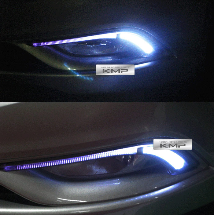 2011 Hyundai Sonata Turbo: Hi Lux LED Daytime Running Light Daylight DRL For HYUNDAI
