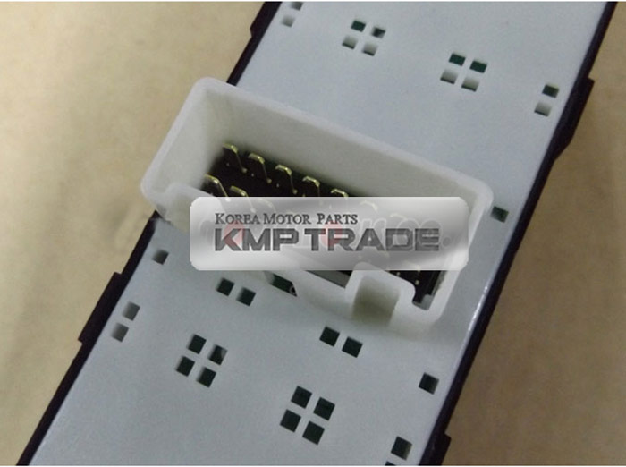Oem parts front side power window main switch for hyundai for Power window motor replacement cost