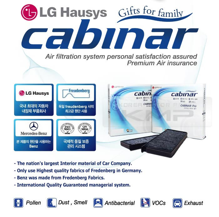 Lg hausys cabin air filter cabiner hy 008 for hyundai 2011 for 2015 hyundai sonata cabin filter location