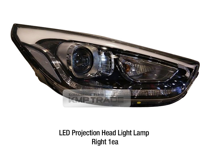 Genuine Parts Led Drl Position Head Light Lamp Rh For