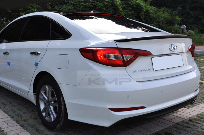 Rear Trunk Wing Lip Spoiler 1pcs For Hyundai 2014 2015 Lf