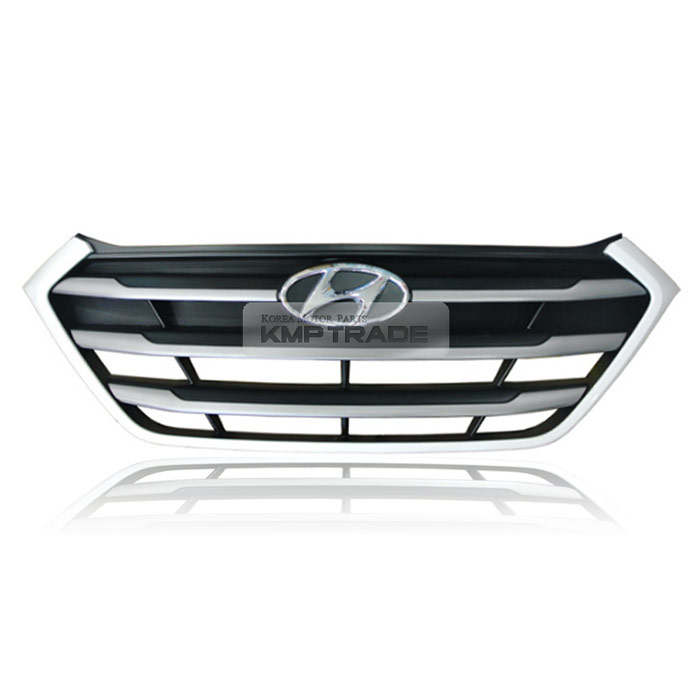 Aftermarket Hyundai Parts: OEM Genuine Parts Front Radiator Hood White Grille For