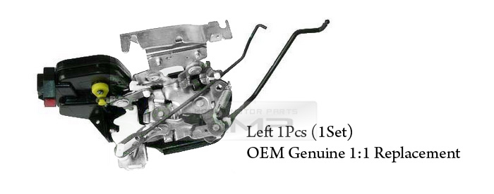 oem genuine door lock latch actuator left for hyundai 2002