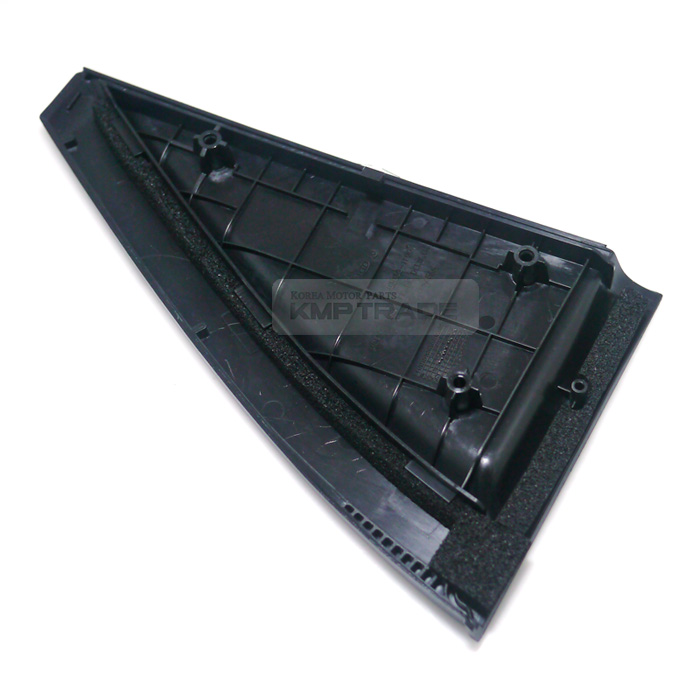 Oem Exterior Drivers Rear Door Outside Delta Molding For