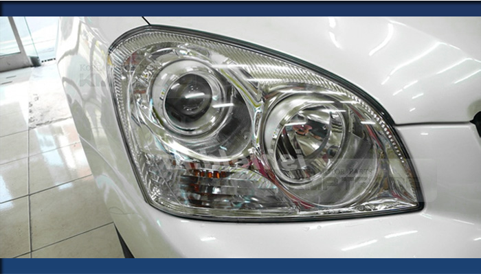 Oem Genuine Chrome Background Head Lamp Right 1p For Kia