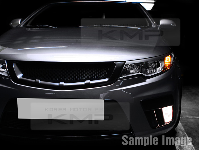 FRONT Hood Radiator Grill Matt Black For KIA 2008-2012 ...