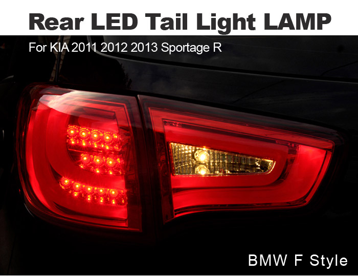 Bmw F Style Rear Led Tail Light Lamp Set For Kia 2011 2012