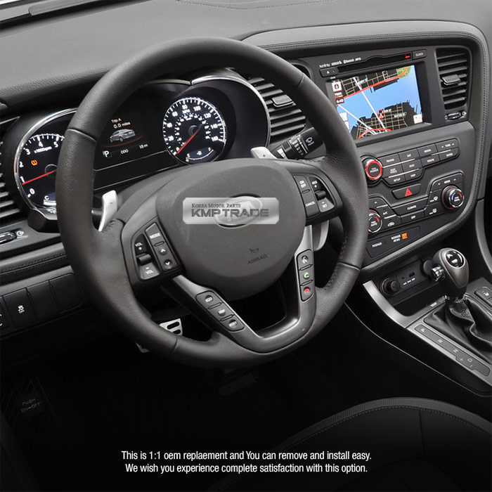 2013 Kia Optima Sx For Sale: OEM Leather Steering Wheel Handle Remote Control Kit For