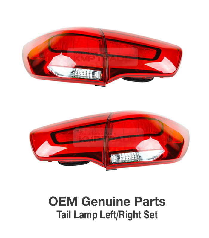 Oem Genuine Parts Rear Tail Light Lamp Lh Rh Assy Set For