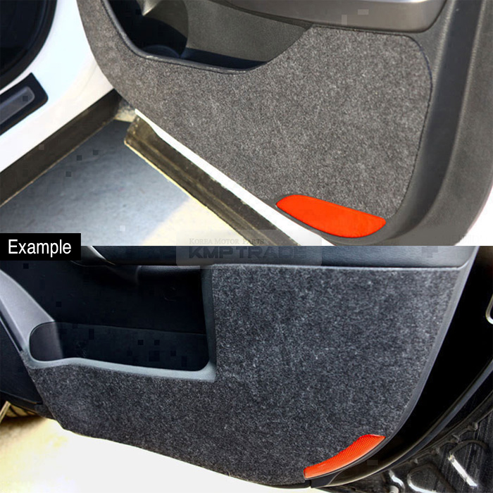 Felt Door Shield Cover Anti Scratch Sticker Kick Protector For Kia 2017 Sportage Ebay