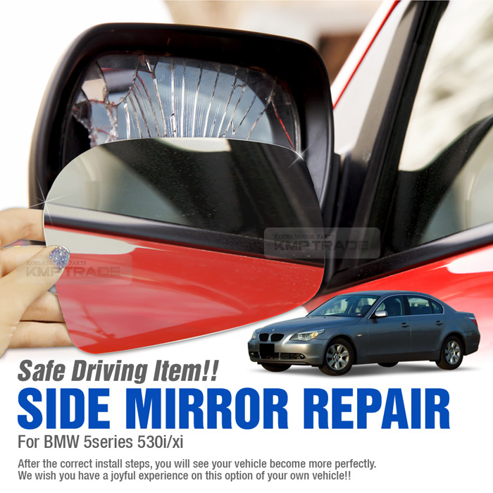 Replacement Side Mirror 2p Adhesive For Bmw 2004 2008