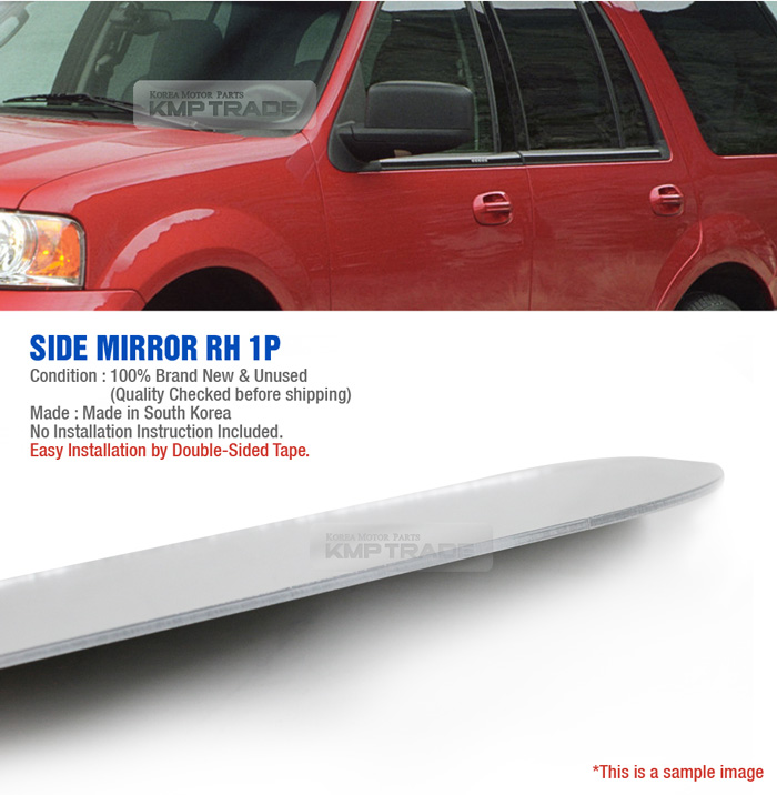 Replacement Side Mirror Rh 1p Adhesive For Ford 2003