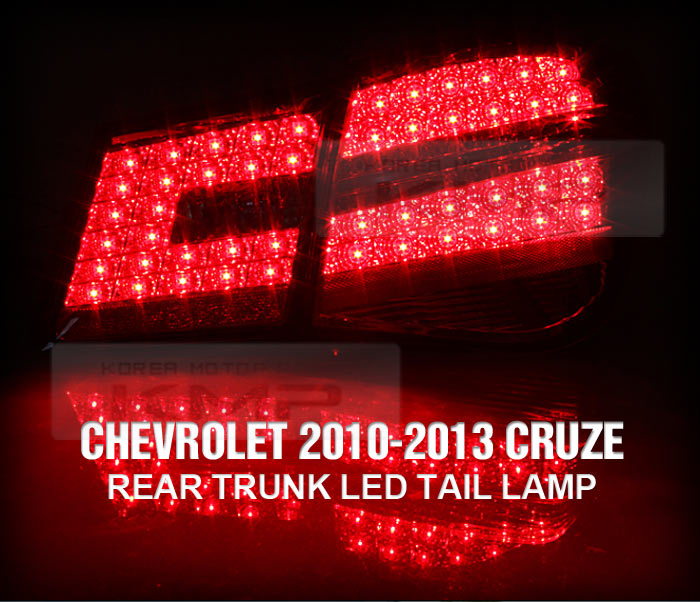 for CHEVROLET 2010 - 2014 Cruze Benz Style Trunk Rear LED ...