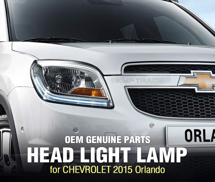 Oem Genuine Parts Head Light Front Lamp Right Assy For Chevrolet