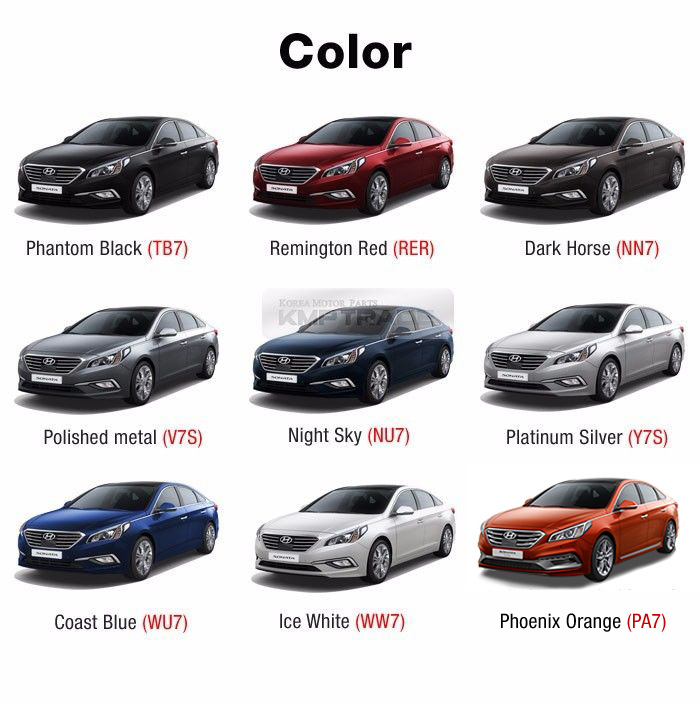 Color Phantom Black Tb7 Remington Red Rer Dark Horse Nn7 Polished Metal V7s Night Sky Nu7 Platinum Silver Y7s Coast Blue Wu7