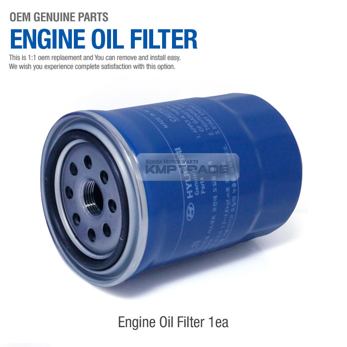 Oem Genuine Parts Engine Oil Filter Assy 26310 27200 For