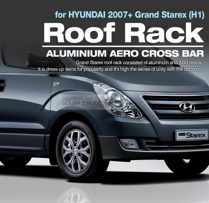 Carrier Top Roof Rack Side Rail Cross Bar For Hyundai 2007