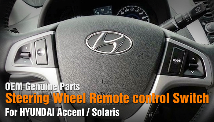 Oem Steering Wheel Remote Control Switch 6p For Hyundai