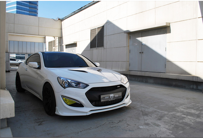 Front Hood Radiator Grille Unpainted For Hyundai 2013