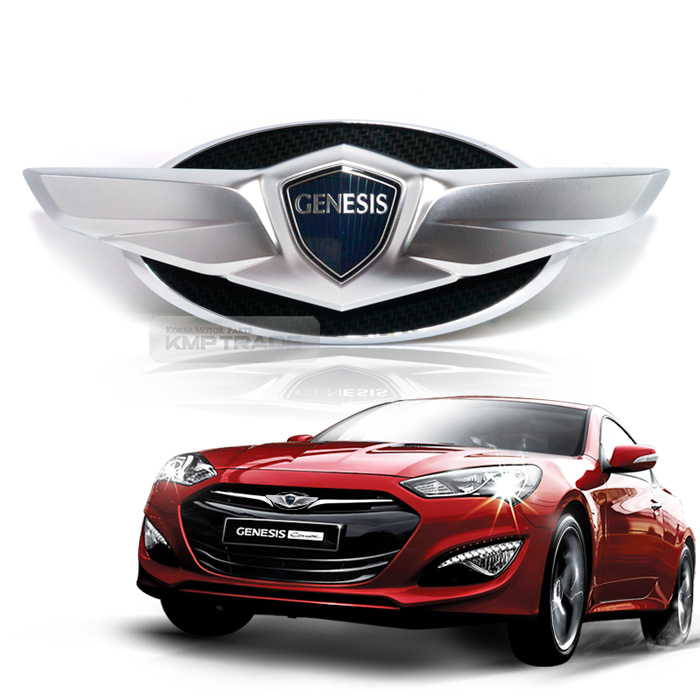 New Wings Emblem Front Grille Rear Trunk 2p For Hyundai 2009 2017