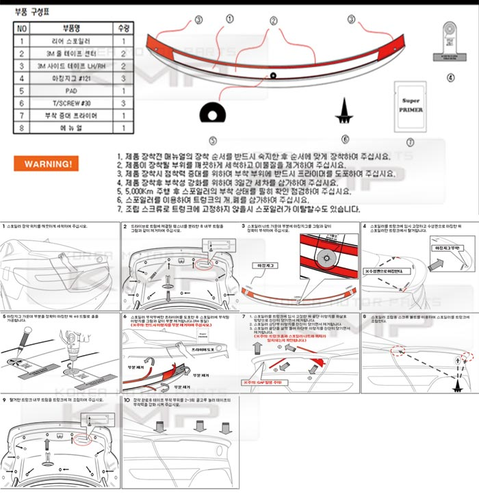 Car Parts Directly From Korea