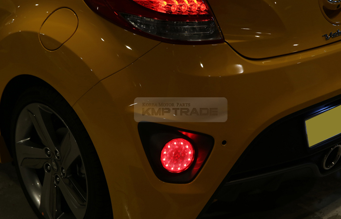 Rear Bumper Reflector 2way Brake Led Module For Hyundai