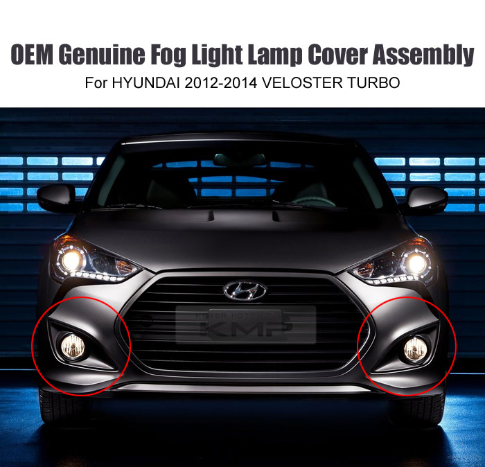 Used Hyundai Veloster Turbo For Sale: OEM Genuine Parts Fog Lamp Assy Cover Wire 6P For HYUNDAI