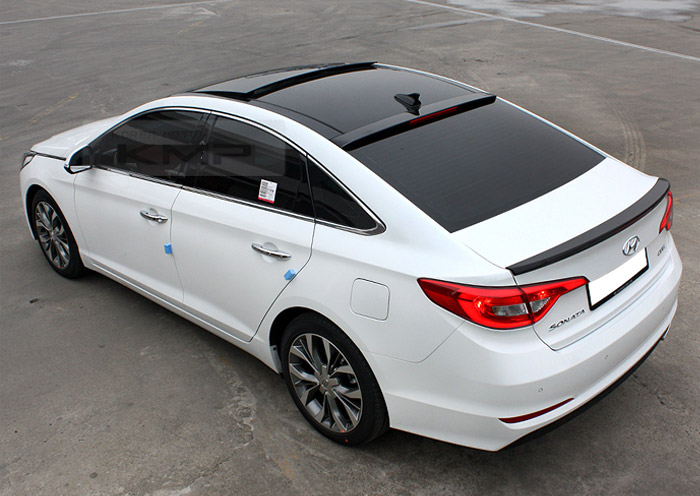 Surface Emitting Rear Roof Wing Led Spoiler For Hyundai