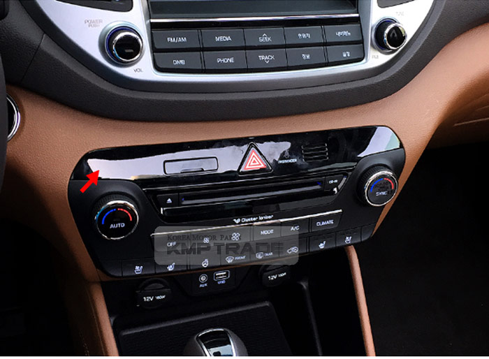 Details about OEM Center Fascia Panel Hazard Switch With SD Card Hole For  HYUNDAI 16-18 Tucson