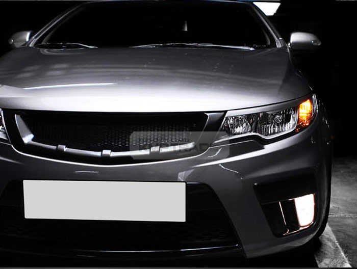 Front Radiator Tuning Grille Painted For Kia 2010 2013