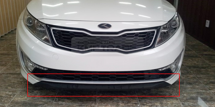 LOWER DEFLECTOR FRONT BUMPER GENUINE KIA OPTIMA HYBRID ONLY 2011-2013 865914U000