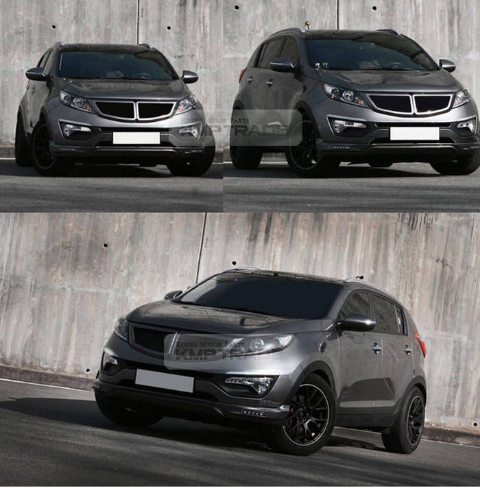 Kia Sportage 2016 Tuning : front t radiator tuning grille cover painted parts for kia 2011 2016 sportage r ebay ~ Aude.kayakingforconservation.com Haus und Dekorationen