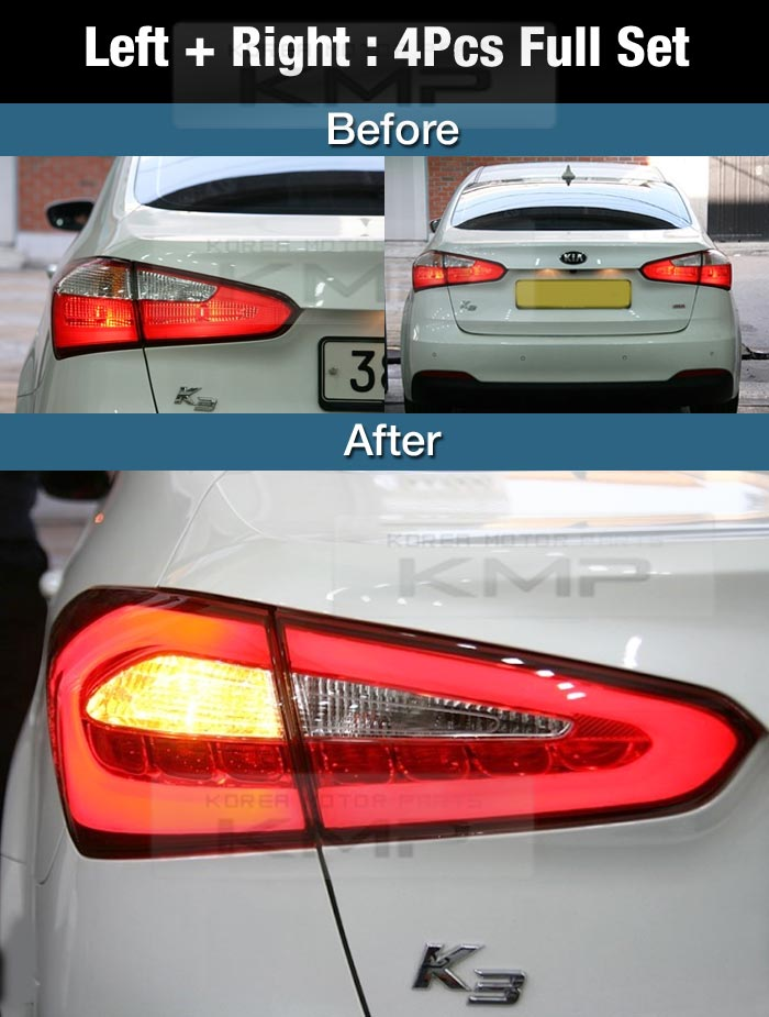 Oem Parts Surface Emission Trunk Led Tail Lamp 4pcs For