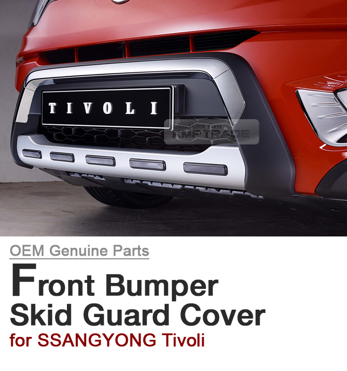OEM Front Bumper Body Skid Plate Lip Diffuser Guard For SSANGYONG 15-17 Tivoli