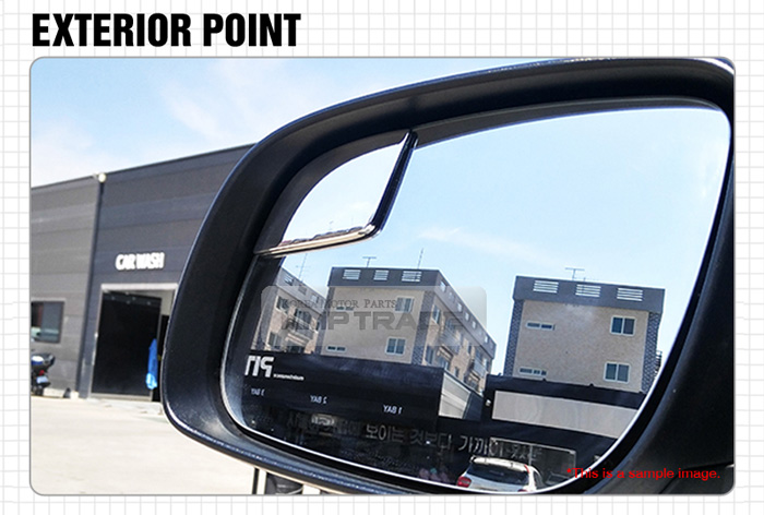 Automotive Wide Angle Rear Side Blind View Spot Mirror LH RH for HYUNDAI 2017-18 Elnatra AD
